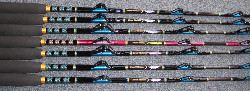 Kevin bogan 39 s custom rods for Personalized fishing pole